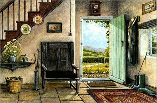 Cachet uk ltd cottage hallway - Country cottage hallways ...