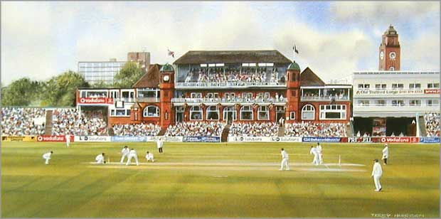 Old Trafford County Cricket Ground Picture Print Quot Old